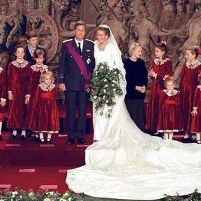 BRUSSELS: Le mariage du Prince Philippe de Belgique et de Mathilde d'Udekem d'Acoz