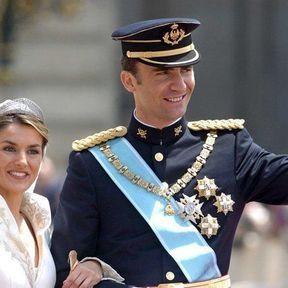 Mariage royal à Madrid : Le Prince Felipe d'Espagne épouse Letizia