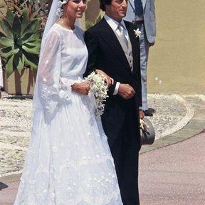 MONACO: Le mariage de la Princesse Caroline et de Philippe Junot