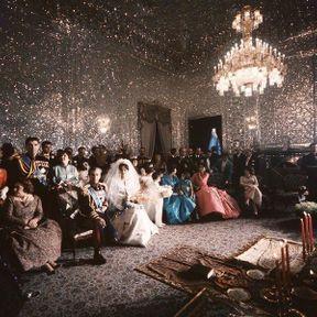 TEHERAN: Le mariage du Shah d'Iran et de Farah Niba