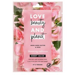 Masque en tissu éclat radieux de Love Beauty and Planet