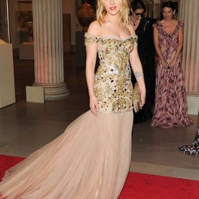 Scarlett Johansson en Prada