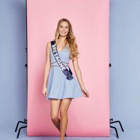 Miss France 2019 : Émilie Bachellereau, Miss Bretagne