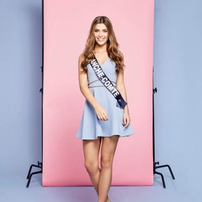 Miss France 2019 : Lauralyne Demesmay, Miss Franche-Comté