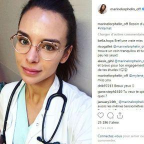 Marine Lorphelin sans maquillage
