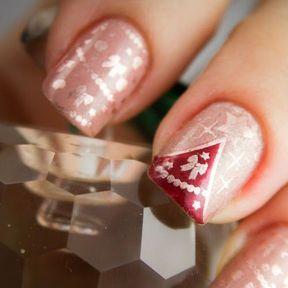 Déco de Noël pour ongles