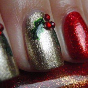 Nail art Noël ongles