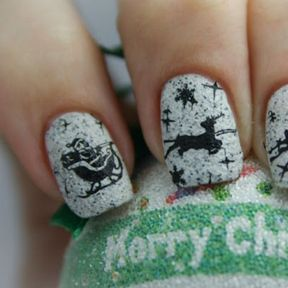 Nails art Noël
