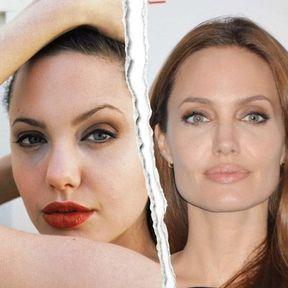 Le nez refait d'Angelina Jolie