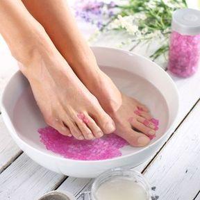 Un bain de pieds salvateur