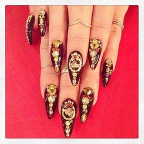 Le nail art de Vanessa Hudgens