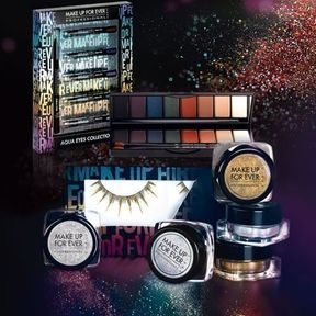 Collection maquillage de noël Holodiam par Make Up For Ever