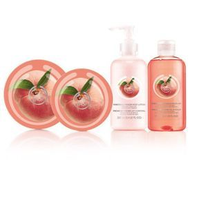 The body shop nous donne la pêche