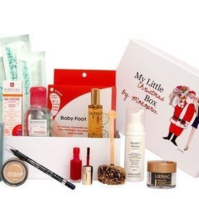On veut toutes la Little Christmas box by Monoprix