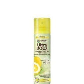 Shampooing sec purifiant à l'extrait de citron