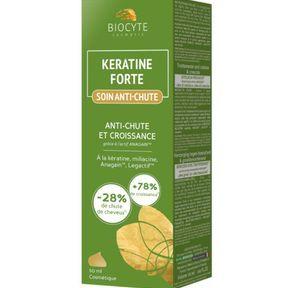 Le soin antichute Keratine Forte de Biocyte