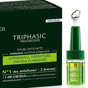Le traitement antichute progressive Triphasic de Rene Furterer