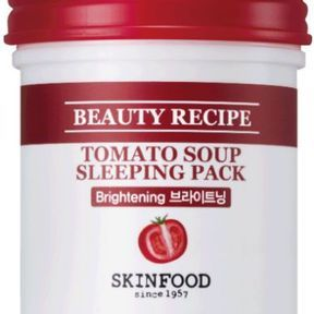 Skinfood : Masque de nuit -  Beauty Recipe Tomato Soup Sleeping Pack