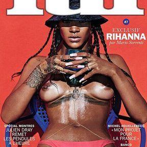Rihanna entièrement nue