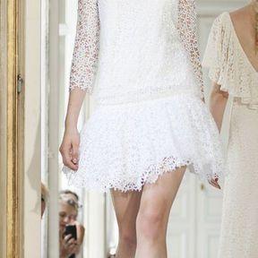 Robe de mariage courte 2013  © Delphine Manivet