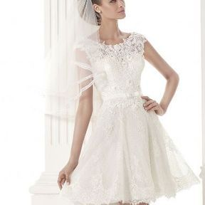 Robe de mariage courte 2015 @ Pronovias