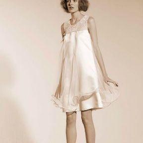 Robe de mariage courte 2015 @ Suzanne Ermann
