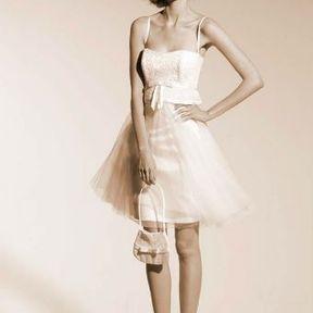 Robe de mariage courte Automne - Hiver 2015 @ Suzanne Ermann