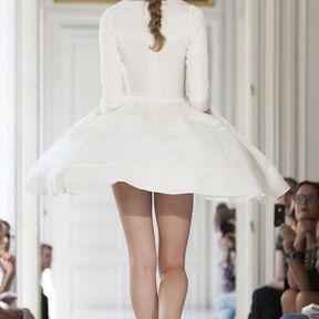 Robe de mariée courte 2013 © Delphine Manivet