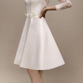 Robe de mariée courte 2013 © Max Chaoul