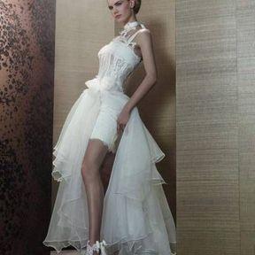 Robe de mariée courte 2013   © Pronuptia
