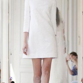 Robe de mariée courte en soie 2013 © Delphine Manivet
