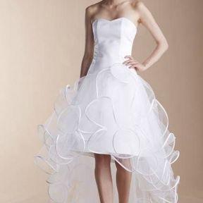 Robe de mariée courte en tulle 2013 © Suzanne Ermann