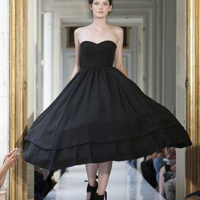 Robe de mariée courte noire 2013 © Delphine Manivet