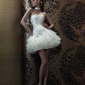 Robe de mariée courte pas cher 2013 © Pronuptia