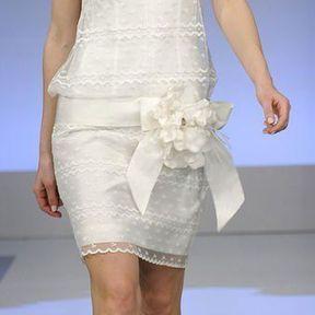 Robes de mariage courtes 2013 © Cymbeline