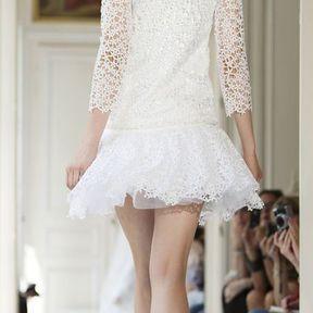 Robes de mariage courtes 2013 © Delphine Manivet