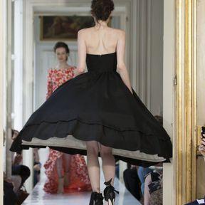 Robes de mariée courte noire 2013 © Delphine Manivet