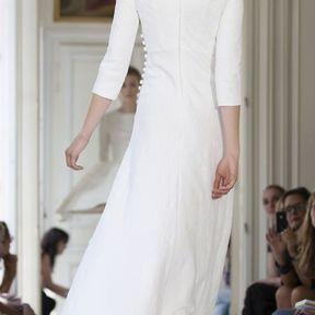 Robes de mariée courtes blanches 2013 © Delphine Manivet