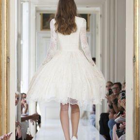 Robes de mariée courtes dentelle 2013 © Delphine Manivet