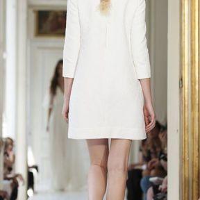 Robes de mariée courtes en soie 2013 © Delphine Manivet