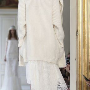 Robes de mariées courtes devant 2013 © Delphine Manivet