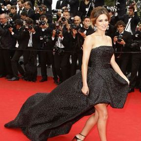 Cheryl Cole en Monique Lhuillier