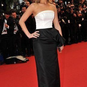 Jennifer Lawrence en Christian Dior