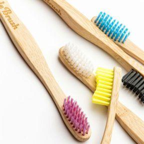 Une brosse à dents recyclable