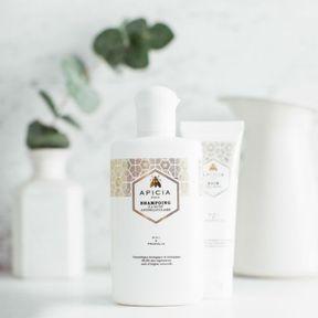 Le shampoing Bio antipelliculaire d'Apicia