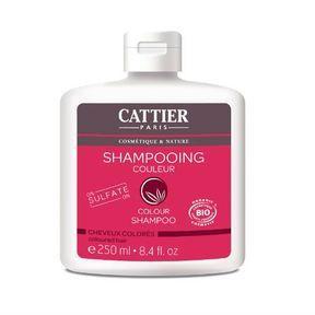 le shampoing Bio pour cheveux colorés de Cattier