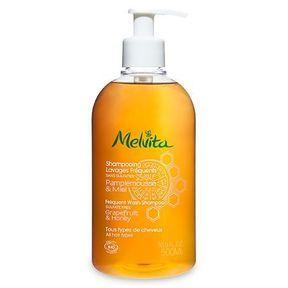 Le shampoing Bio lavages fréquents Pamplemousse & Miel de Melvita