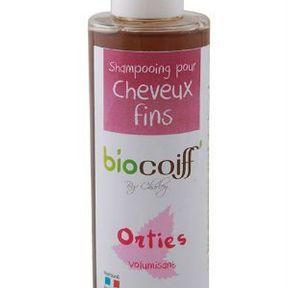 Shampoing aux orties de Biocoiff
