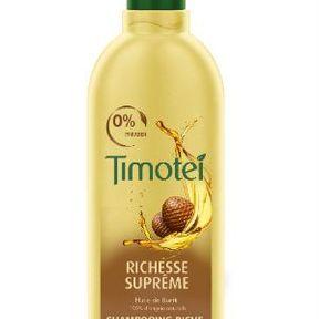 Shampoing richesse suprême de Timotei