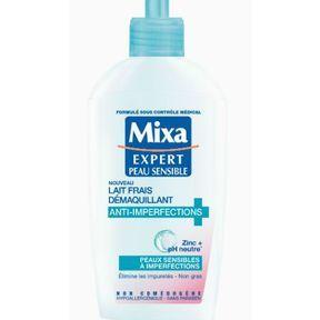 Le lait démaquillant de Mixa